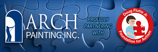 Arch Painting is proudly partnering with the Doug Flutie Jr. Foundation for Autism.